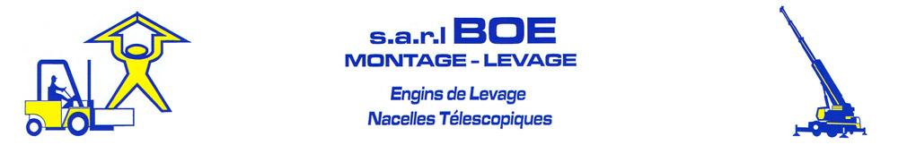 BOE Montage Levage